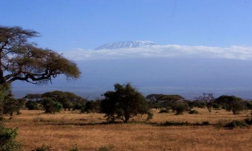 Zdjecie KENIA / Park Narodowy Amboseli / Amboseli / widok na Kilimandżaro