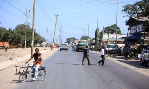 Zdjęcie KENIA / Mombasa / Mombas / Rower-Taxi