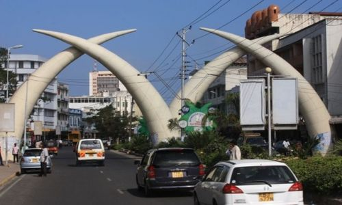 Zdjęcie KENIA / Mombasa / Mombas / widokówka z Mombasy