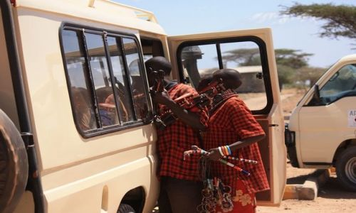 Zdjęcie KENIA / Park Narodowy Amboseli / Amboseli / akwizycja po afrykańsku