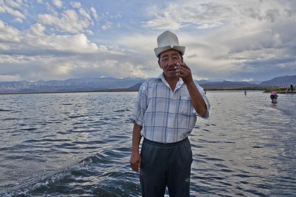 Zdjęcia: Balikci, Balikci, Kirgiz z Balikci, KIRGIZJA