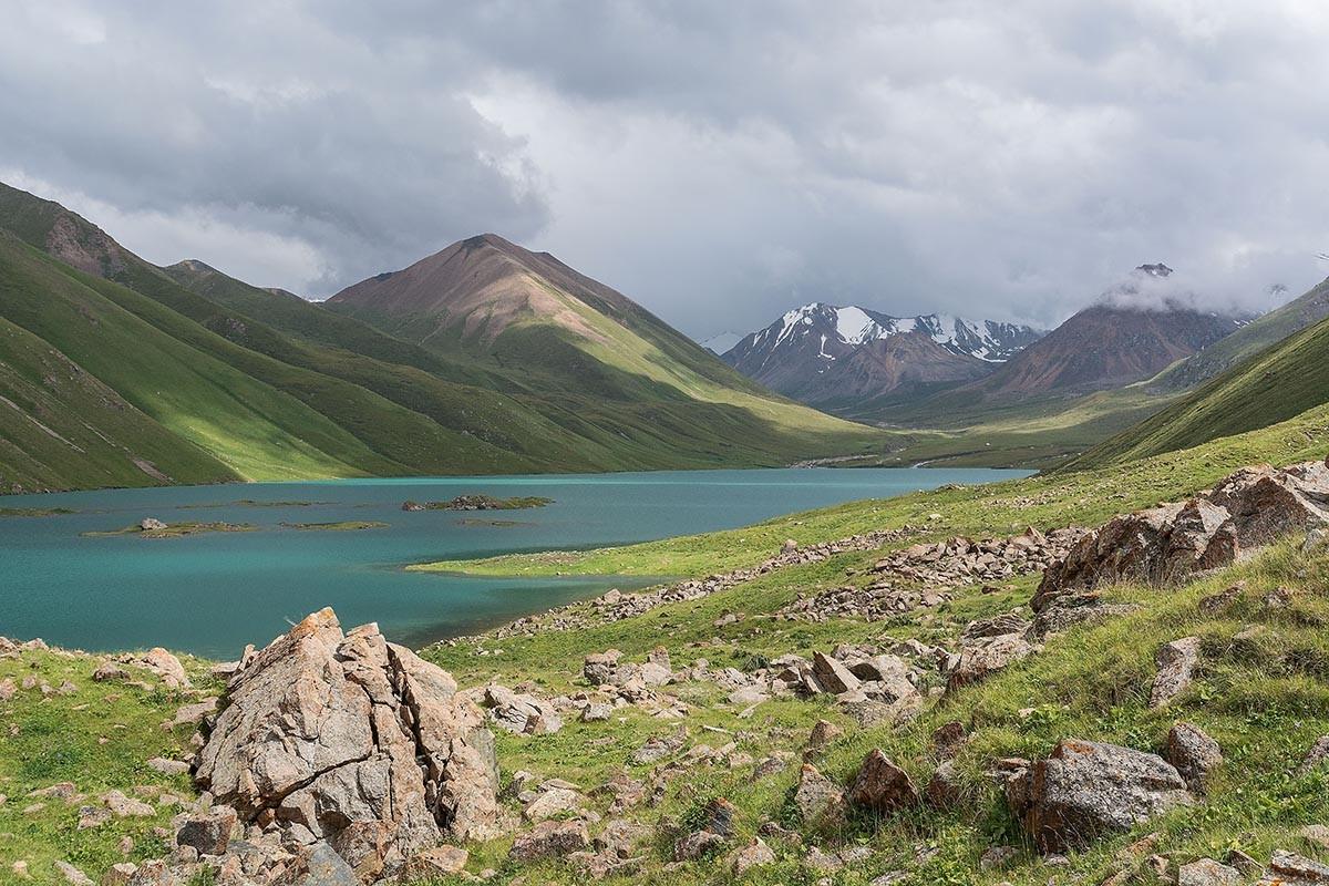 Zdjęcia: Kochkor, Narin Oblasti, Kol-Ukok Lake, KIRGIZJA