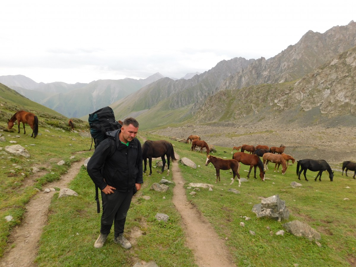 Zdjęcia: Droga na Ala Kol, -Kirgizja, Kirgistan, KIRGIZJA