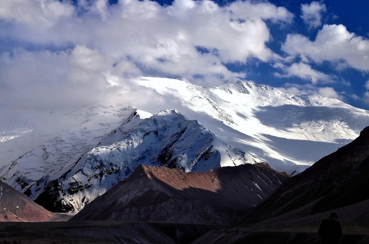 Zdjęcia: Ługowa (Cebulowa) Polana, Pamir, Góry Zaałajskie , Pik Lenina, KIRGIZJA