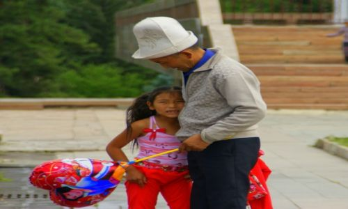 Zdjęcie KIRGIZJA / Biszkek  / Biszkek  / Płacz