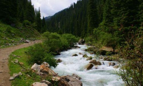 Zdjęcie KIRGIZJA / -Kirgizja / Kirgizja / Droga
