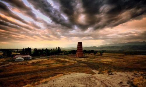 Zdjęcie KIRGIZJA / obwód czujski / ok. Tokmok / Wieża Burana