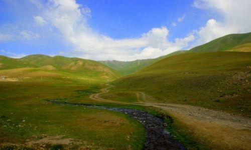 Zdjęcie KIRGIZJA / Okolice Narynia  / Okolice Narynia  / Droga