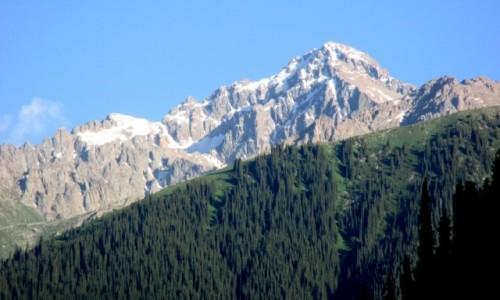 Zdjęcie KIRGIZJA / Tien-Shan / Gdzieś powyżej Kyzyl Tuu / Zagórami, za lasami