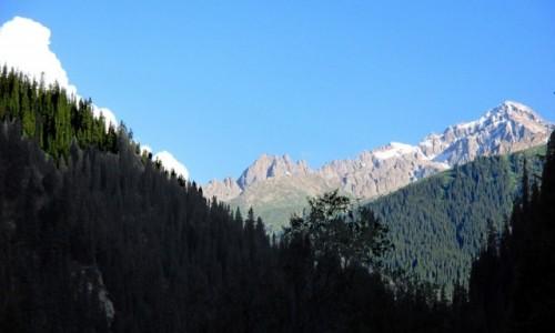 KIRGIZJA / Tien-Shan / Gdzieś powyżej Kyzyl Tuu / W cieniu i świetle