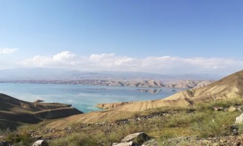 Zdjecie KIRGIZJA / Kirgistan / Toktogul  / jezioro Toktogul
