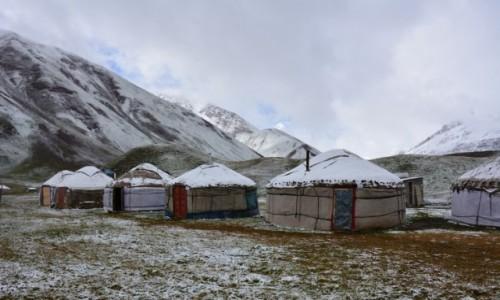 Zdjęcie KIRGIZJA / Pamir / Pamir / Jurty