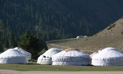 Zdjecie KIRGIZJA / Kirgizja / Góry / Jurty