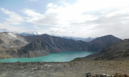 Zdjecie KIRGIZJA / Ala Kol / Jezioro Ala Kol / Kirgistan