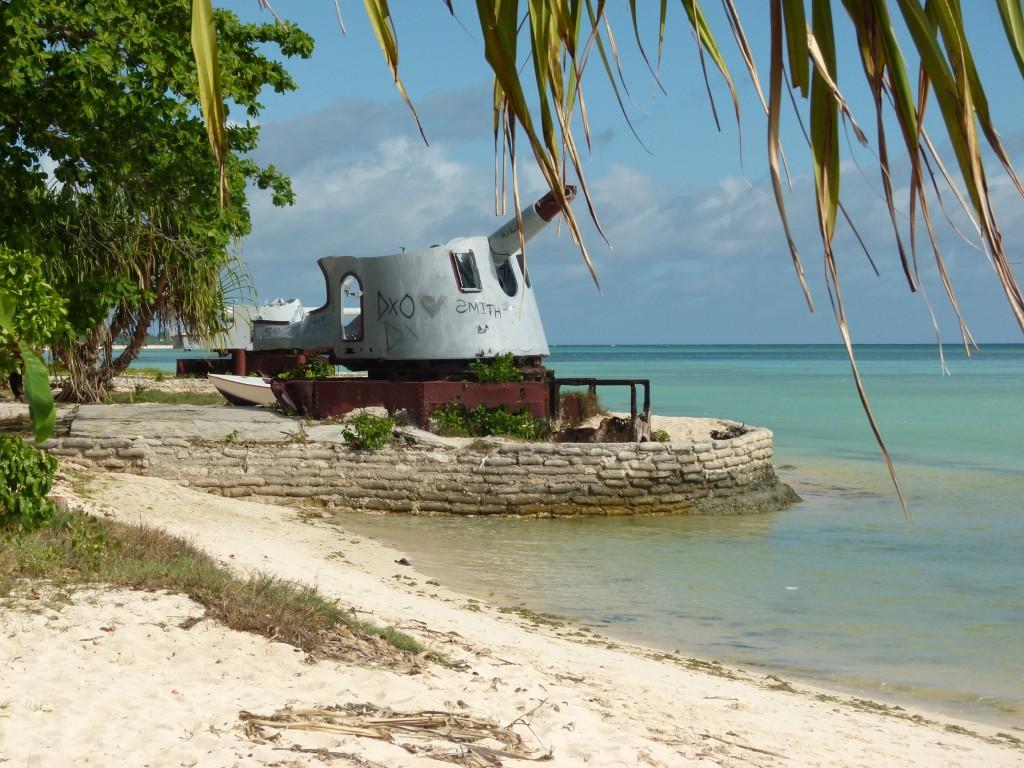 Zdjęcia: Betio, Tarawa, ...jest technika japońska..., KIRIBATI