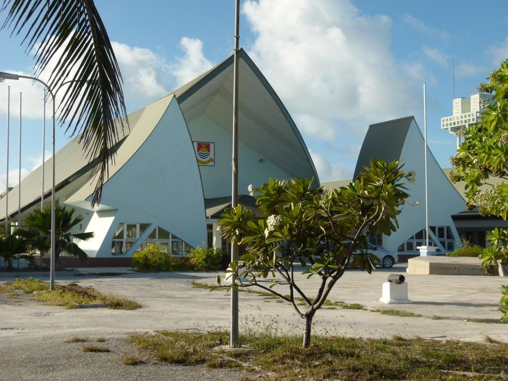 Zdjęcia: Banraeaba, Tarawa, Gmach parlamentu III, KIRIBATI