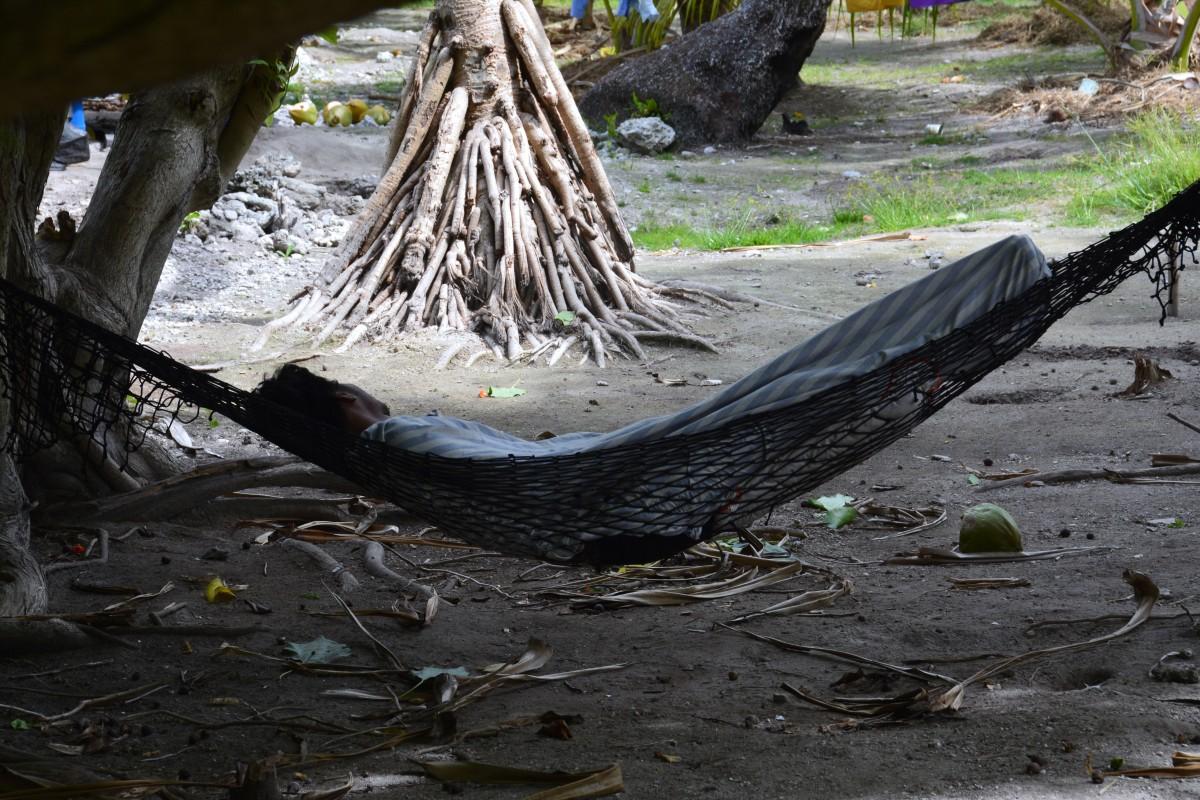 Zdjęcia: Abatao, Tarawa Północna, Niedzielne popołudnie, KIRIBATI