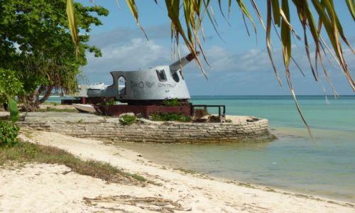 Zdjęcie KIRIBATI / Tarawa / Betio / ...jest technika japońska...