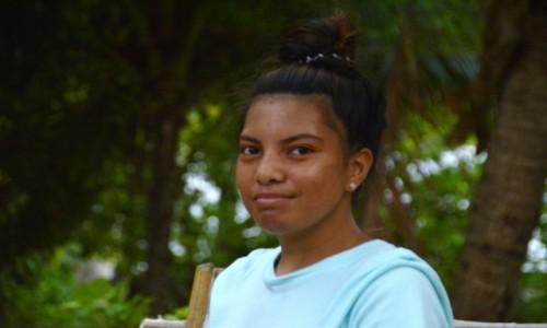 Zdjecie KIRIBATI / Tarawa Północna / Abatao / Basia z Abatao