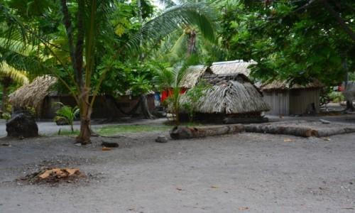 Zdjecie KIRIBATI / Tarawa Północna / Abatao / Można też tak mieszkać