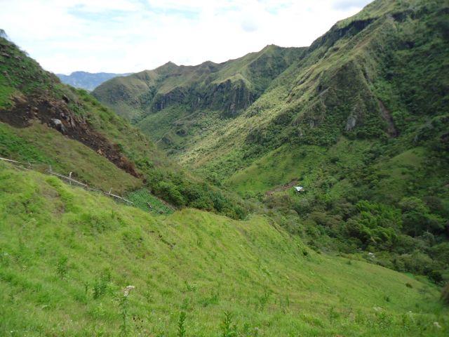 Zdjęcia: Tierradentro, Cauca, Zielone łąki, KOLUMBIA