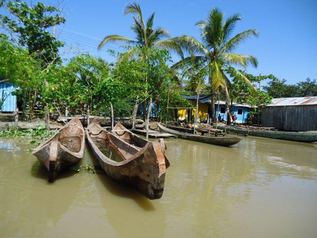 Zdjęcia: Bocas del Rio Atrato, Antioquia, Łodzie, KOLUMBIA