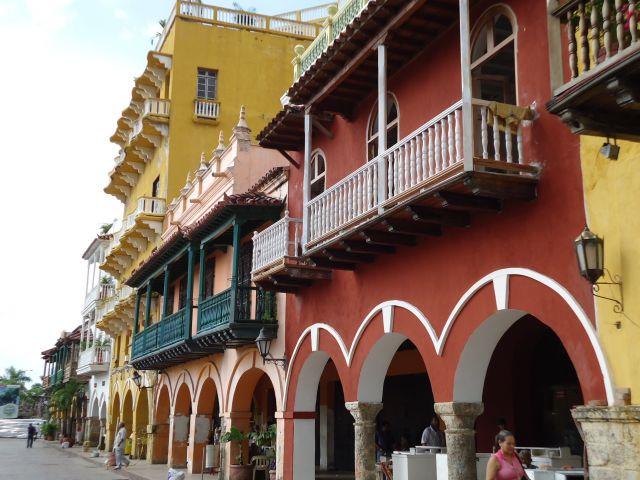 Zdjęcia: Cartagena, Bolivar, Kolory Cartageny (4), KOLUMBIA