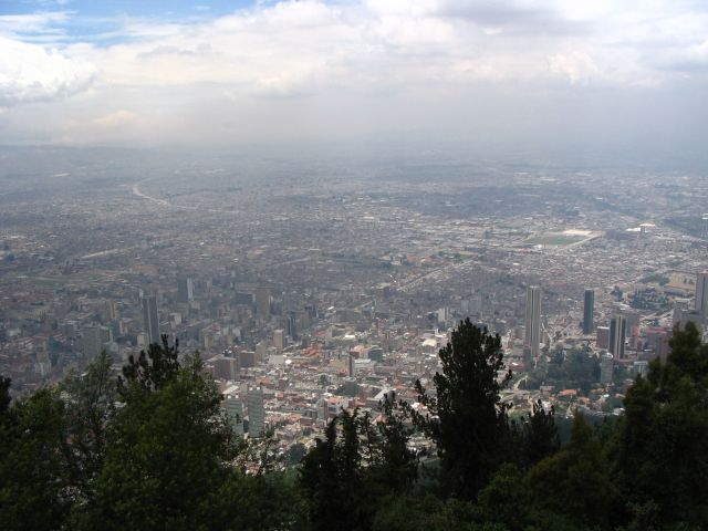 Zdj�cia: Bogota, Cundinamarca, Miejska d�ungla, KOLUMBIA
