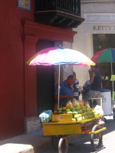Zdjęcia: Cartagena, Bolivar, Świeże mango, KOLUMBIA