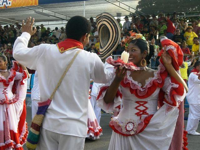 Zdj�cia: Barranquilla, Wybrzeze Morza Karaibskiego, Gran parada de la tradici�n 3, KOLUMBIA