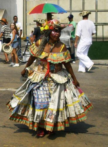 Zdjęcia: Barranquilla, Wybrzeze Morza Karaibskiego, Gran parada de la tradición 4, KOLUMBIA