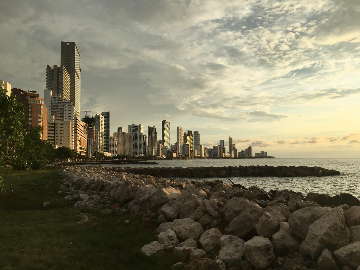Zdjęcia: Cartagena de Indias, Karaiby, Industrial Cartagena , KOLUMBIA