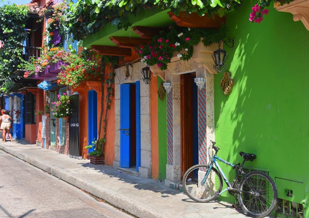 Zdjęcia: Ciudad Amurallada, Cartagena de Indias, Kolory starej Kartageny, KOLUMBIA