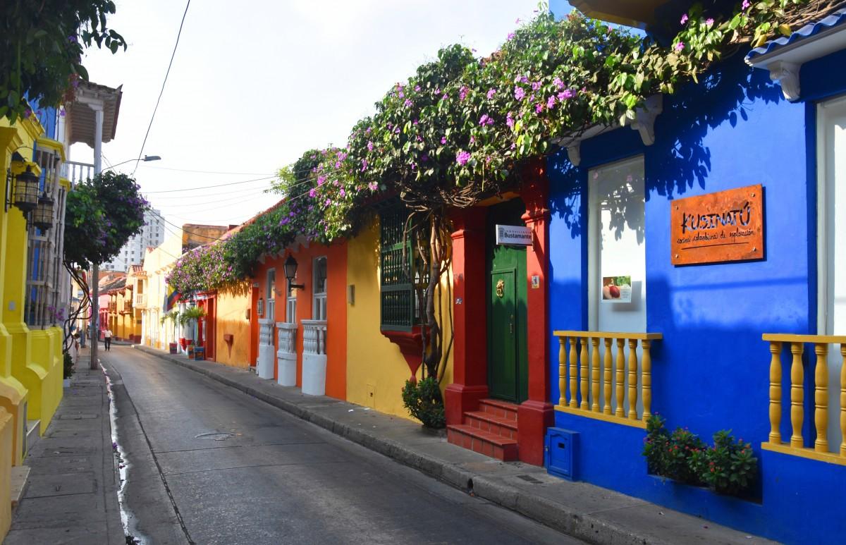 Zdjęcia: Ciudad Amurallada, Cartagena de Indias, Uliczki starego miasta, KOLUMBIA