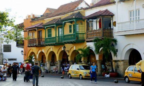 KOLUMBIA / Cartagena  / Cartagena  / Balkony