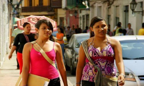 Zdjęcie KOLUMBIA / Cartagena / Cartagena / Kolumbijki
