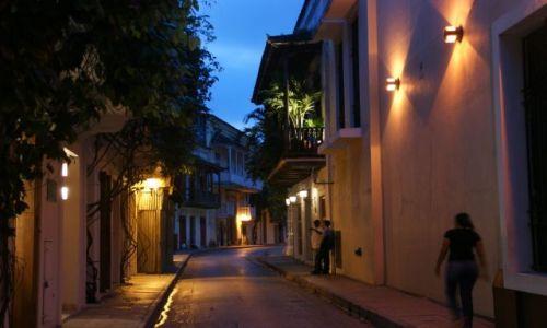 KOLUMBIA / Cartagena  / Cartagena  / Uliczka