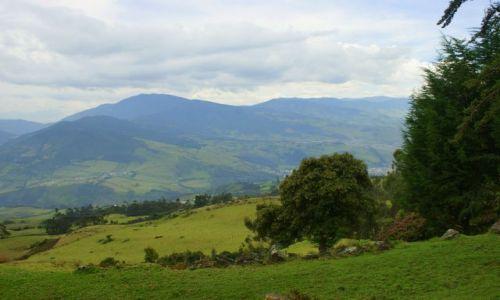 KOLUMBIA / Wulkan  Galeras / Wulkan  Galeras / Okolice  wulkanu