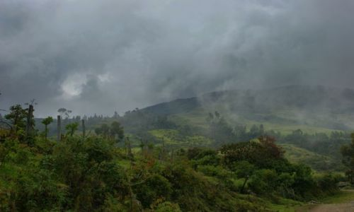 Zdjęcie KOLUMBIA / Okolice wulkanu  Galares / Okolice wulkanu  Galares / Pora  deszczowa