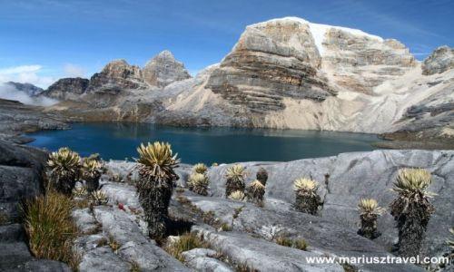 Zdjecie KOLUMBIA / brak / sierra del Cocuy / laguna de la Plaza