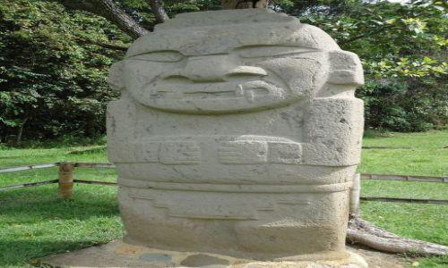 Zdjecie KOLUMBIA / Huila / San Agustin / Posąg