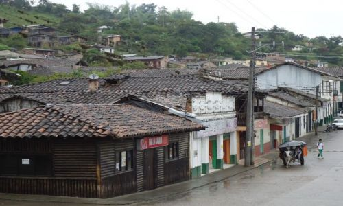 Zdjęcie KOLUMBIA / Huila / San Agustin / Deszczowy San Agustin