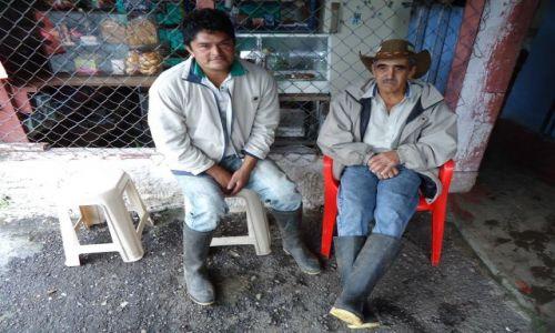 Zdjecie KOLUMBIA / Huila / pomiędzy San Agustin a Isnos / Po wypiciu cziczy