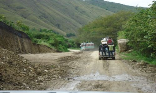 Zdjecie KOLUMBIA / Huila/Cauca / trasa La Plata - Tierradentro / W drodze