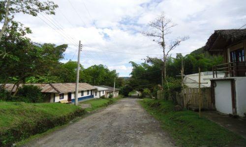 Zdjęcie KOLUMBIA / Cauca / Tierradentro / Główna ulica