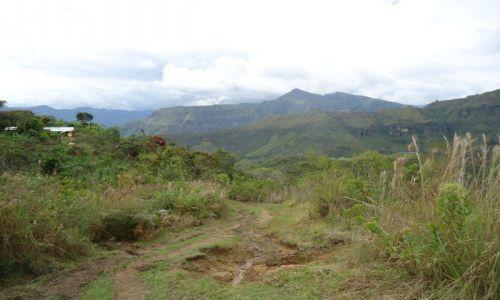 Zdjęcie KOLUMBIA / Cauca / Tierradentro / Ścieżka w górach