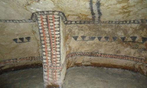 Zdjęcie KOLUMBIA / Cauca / Tierradentro / Malowane grobowce