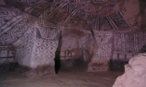 KOLUMBIA / Cauca / Tierradentro / Malowane grobowce (2)