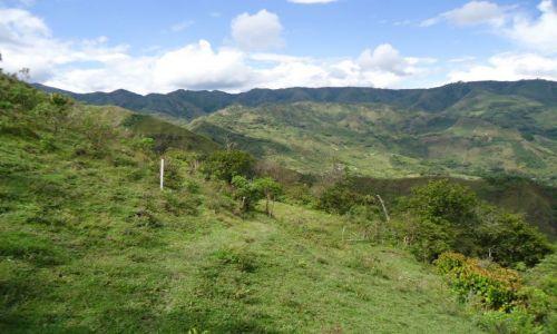 Zdjęcie KOLUMBIA / Cauca / Tierradentro / Andy