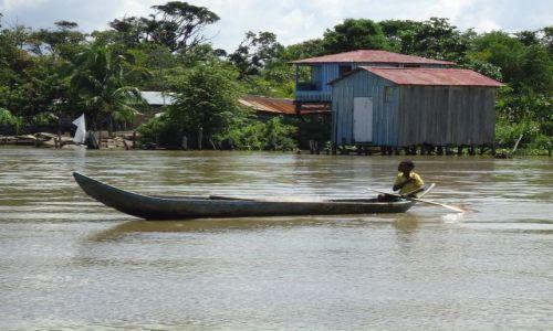 Zdjęcie KOLUMBIA / Antioquia / Bocas del Rio Atrato / Komunikacja lokalna